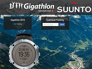 Gigathlon 2016 - Live Tracking